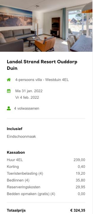 Partner Link landal-nl